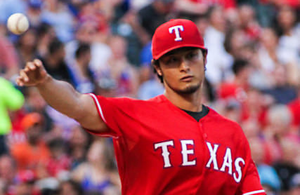 Fingers crossed that Rangers ace Yu Darvish isn't done for the season. Photo Courtesy: Darryl Briggs