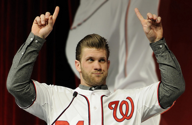 Bryce Harper knows that not much stands between the Nationals and the top of the NL East this season. Photo Courtesy: Scott Ableman