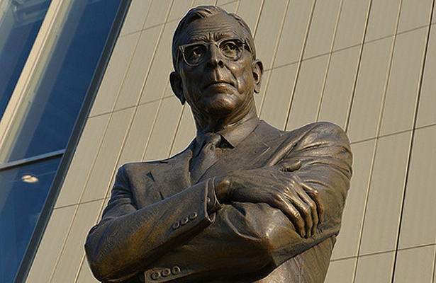 John Wooden is the standard when comparing greatness in college basketball. Photo Courtesy: Adam Fagen