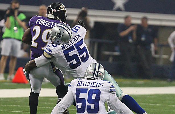 The Dallas Cowboys have Rolando McClain for one more season. Photo Courtesy: Michael Kolch