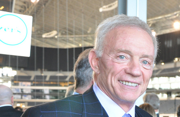It's a fact, GM Jerry is still running the show for the Dallas Cowboys. Photo Courtesy: Alfonso Cevola