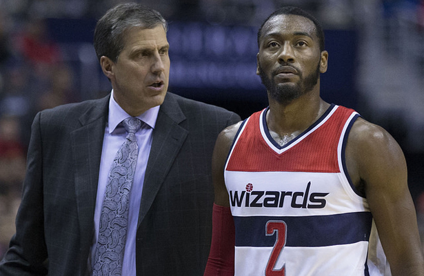Could it be that John Wall and the Washington Wizards are hitting their stride in the playoffs? Photo Courtesy: Keith Allison