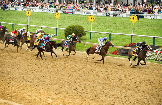 It's the 140th Annual Preakness and everyone is excited. Photo Courtesy: Jay Baker