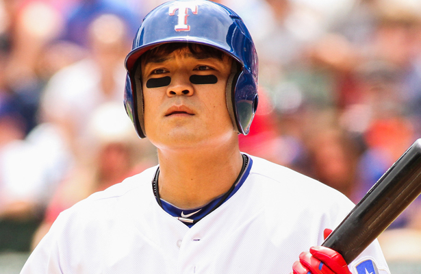 The Texas Rangers need Shin-Soo Choo to keep producing at the top of the order. Photo Courtesy: Darryl Briggs