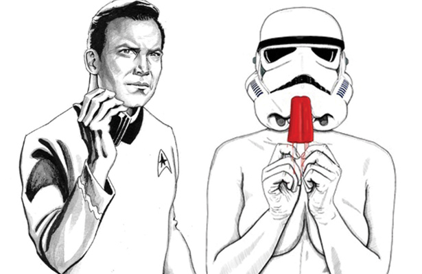 Now that Star Trek and Star Wars are in bed together does the argument matter anymore?