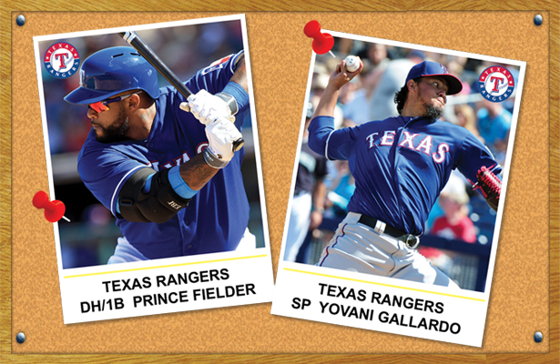 With both being on the Texas Rangers, Prince Fielder and Yovani Gallardo are in their happy place.