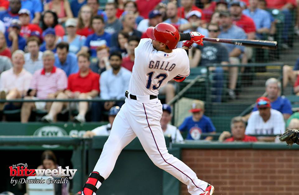 Young phenom Joey Gallo has impressed since being called up. Photo Courtesy: Dominic Ceraldi