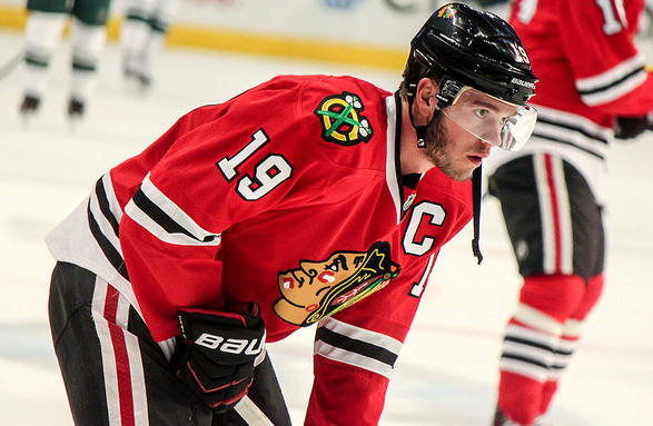 Captain Jonathan Toews and the Blackhawks eye another Stanley Cup Courtesy: Sarah A.