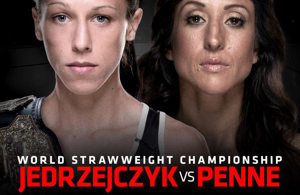 The main bout between Jedezejczyk and Penne is sure to excite Photo Courtesy: UFC