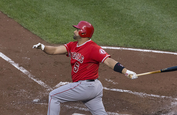 Albert Pujols and seven others will decide who is the champ at this year's Home Run Derby. Photo Courtesy: Keith Allison