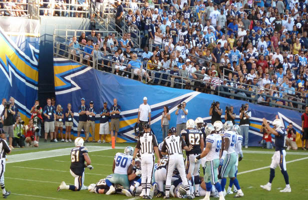 The Dallas Cowboys learned that they have some things to improve on for their next preseason game. Photo Courtesy: Arnold Tijerina