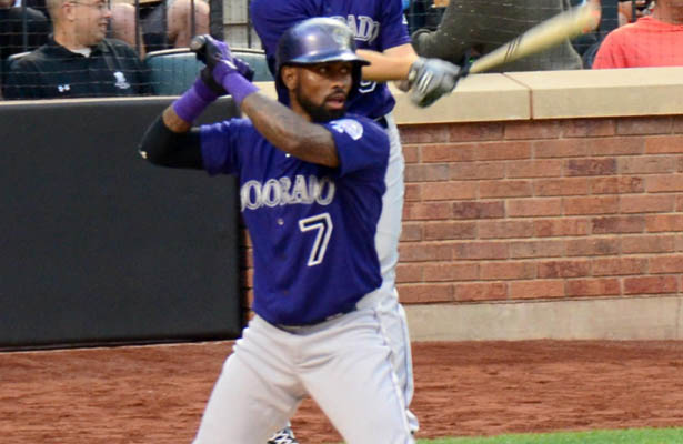 Perhaps Jose Reyes and the Colorado Rockies have lost their focus. Photo Courtesy: slgckgc