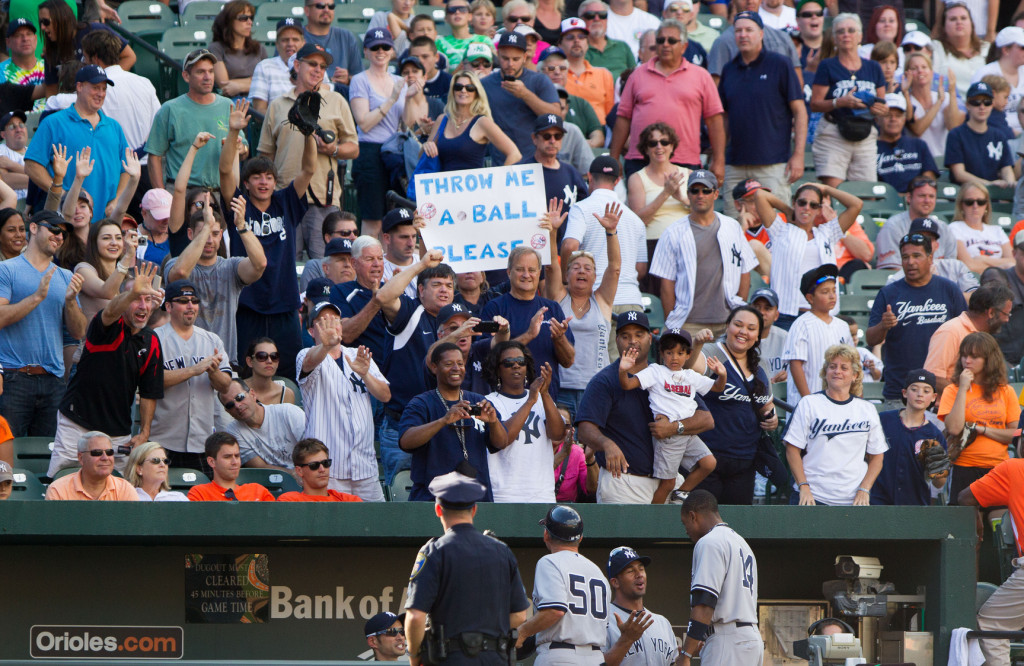 What can be done about increasing fan safety in ball parks? Photo Courtesy: Keith Allison