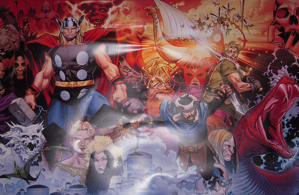 The ever expanding Marvel Universe allows fans to follow what they like. Photo Courtesy: Patrick Janicek