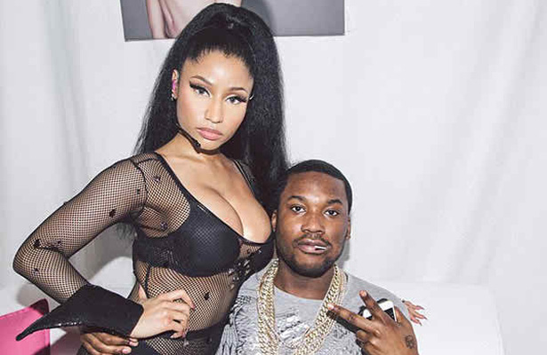 Meek Mill pictured here with Nicki Minaj has been the center of the Twitterverse with his call out of rapper Drake. Photo Courtesy: Just Entertainment