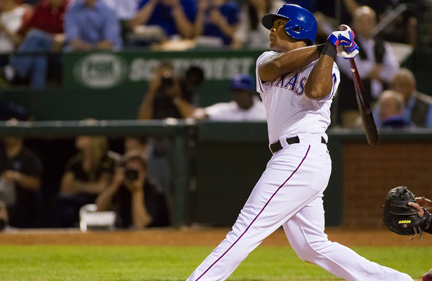 Adrian Beltre and the Rangers look to remain hot against the Houston Astros this weekend. Photo Courtesy: Darryl Briggs