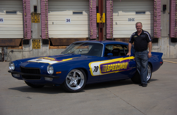 Al Unser Jr and his 1970 Camaro are just part of the sights at the upcoming  Goodguys show at Texas Motor Speedway. Photo Courtesy: Goodguys