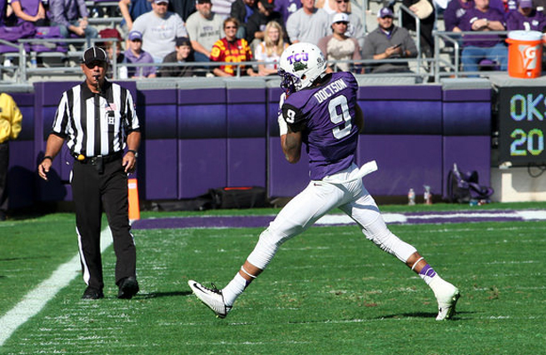 Josh Doctson has started off the season with 8 receptions for 74 yards and a TD. Photo Courtesy: Dominic Ceraldi