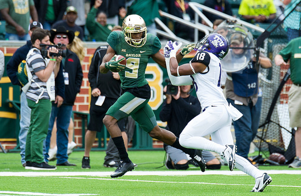 K.D. Cannon and the Baylor Bears look to capture their third consecutive Big 12 title. Photo Courtesy: Matthew Lynch