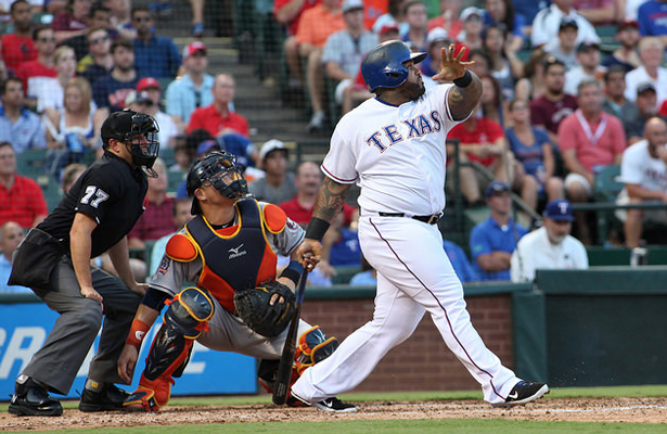 Prince Fielder has found his groove again and that's great news for Texas Rangers fans. Photo Courtesy: Dominic Ceraldi