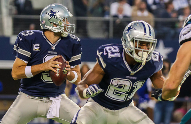 Tony Romo and Joseph Randle will have their hands full against the Eagles. Photo Courtesy: Darryl Briggs