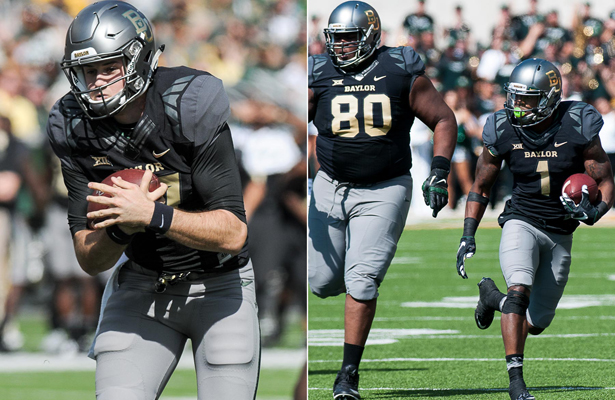 The Baylor Bears are putting some serious hurt on opposing defenses this season. Photo Courtesy: Matthew Lynch