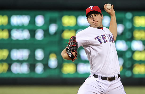 The Texas Rangers will rely on Derek Holland to take the mound in Game 4 against the Blue Jays. Photo Courtesy: Darryl Briggs
