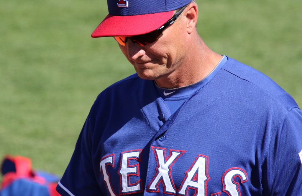 Jeff Banister and the Texas Rangers face the Toronto Blue Jays in the ALDS. Photo Courtesy: Mike LeChance