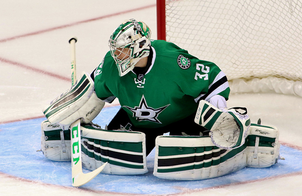 If Kari Lehtonen doesn't start this season off strong, coach Lindy Ruff could be on the hot seat fast. Photo Courtesy: Dominic Ceraldi