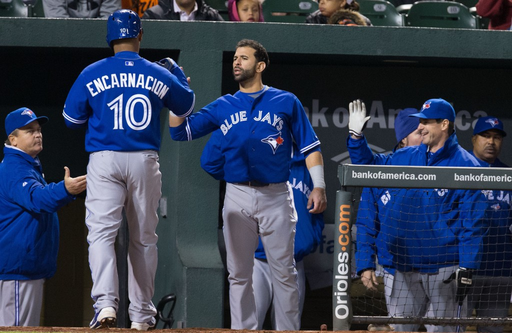 The Toronto Blue Jays face the defending AL champs, the Kansas City Royals for the AL pennant. Photo Courtesy: Keith Allison
