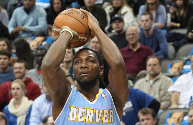 Denver Nuggets PF Kenneth Faried had 10 points and 10 rebounds against the Mavericks. Photo Courtesy: Dominic Ceraldi