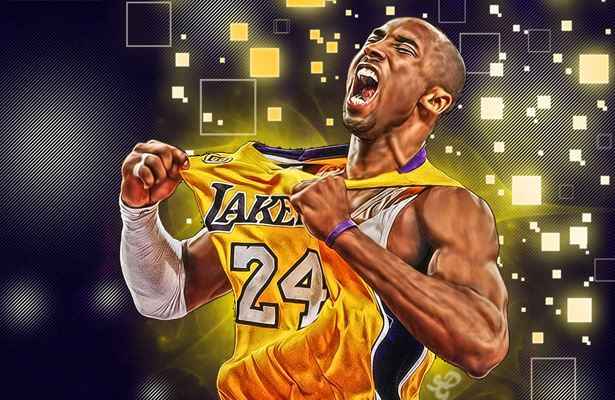 Kobe Bryant has definitely left his mark on the NBA game and is destined to be a hall of famer. Image Courtesy: Shea Huening