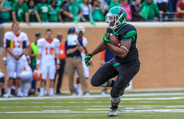 The North Texas Mean Green faithful hope the offense can get going for their homecoming game. Photo Courtesy: Sandy McAnally