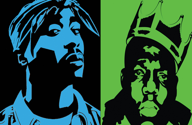Two rap icons. One true story. You read it here first.