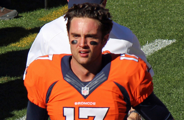 Broncos QB Brock Osweiler lead the Broncos to victory in his first career start. Photo Courtesy: Jeffrey Beall