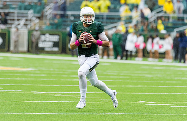 Bears fans should expect QB Jarrett Stidham to rely on his legs as much as his arm in their match up with the Cowboys on Saturday. Photo Courtesy: Matthew Lynch