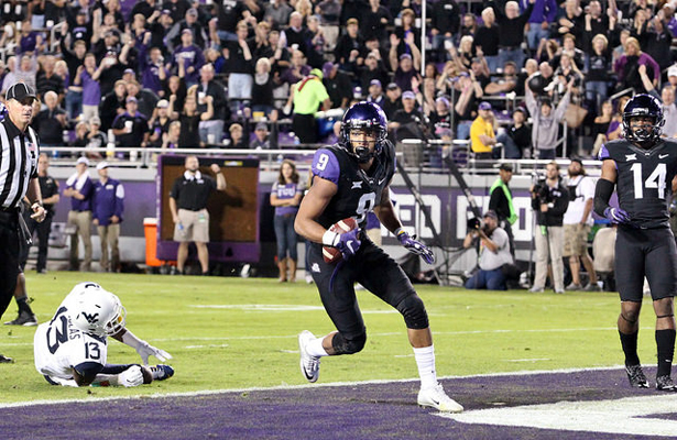 "TCU WR  Josh Doctson is having himself a ""Heisman-like"" season. Photo Courtesy: Dominic Ceraldi"