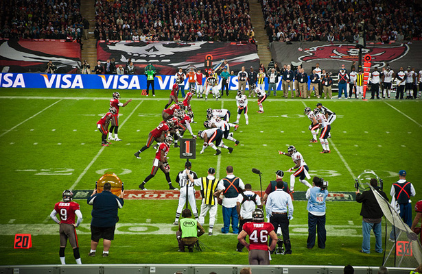 The NFL has had a presence across the pond for a while now, but is having an actual London based team realistic? Photo Courtesy: Steve Parkinson