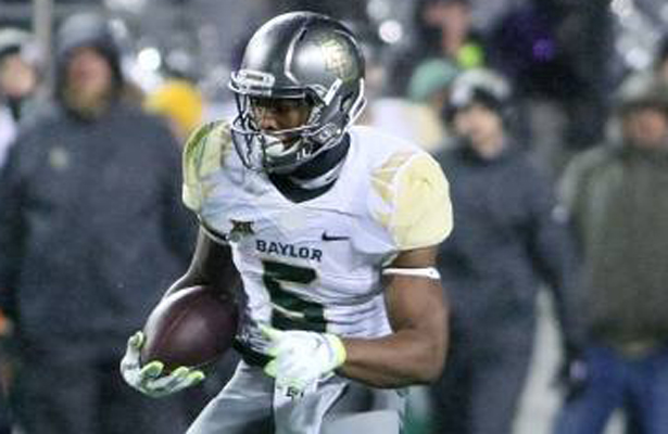 The Baylor Bears expect to use RB Johnny Jefferson on several plays against the Texas Longhorns. Photo Courtesy: Dominic Ceraldi