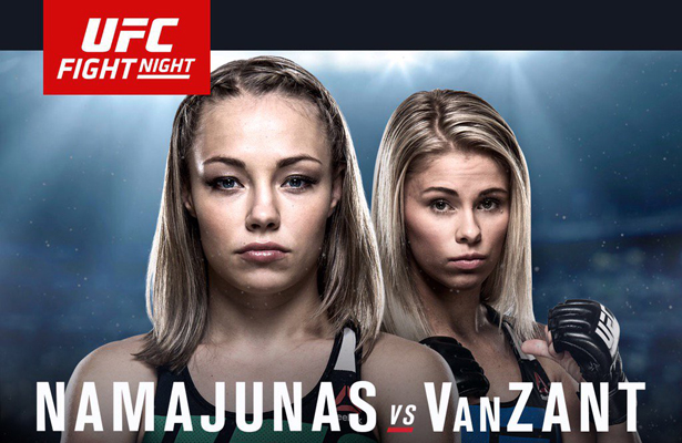 If you want to watch the Namajunas vs. VanZant fight, you better get UFC FightPass asap!