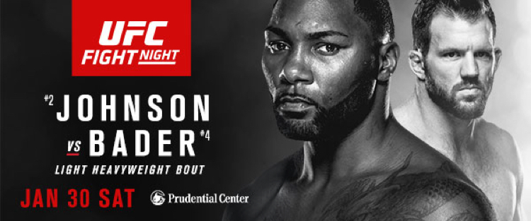 Johnson vs. Bader looks to be a pretty close match. So you got!?!