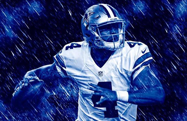 Like it or not, Cowboys QB Dak Prescott will be the helmsman in their season opener. Photo Courtesy: @DBoyz62 Twitter Account