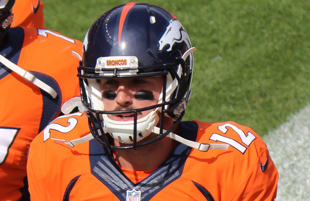 Do not be surprised if you see first round pick Paxton Lynch taking snaps against the Raiders. Photo Courtesy: Jeffrey Beall
