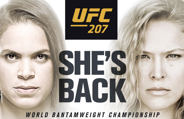 UFC 207 on a Friday night is a must-see event plus it has a great card.
