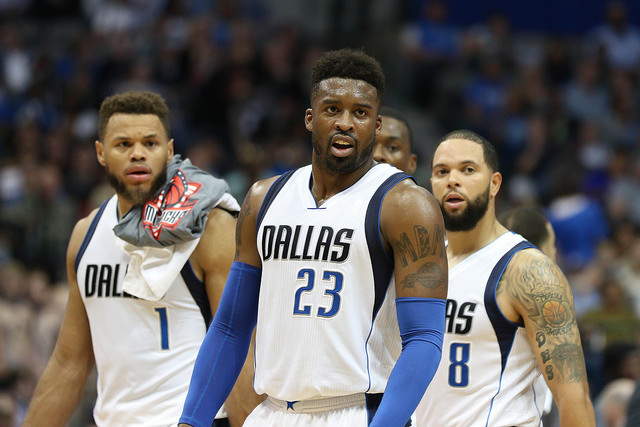 Wesley Matthews needs to continue to create his own shots to give the offense some consistency. Photo Courtesy: Michael Kolch