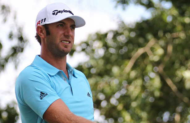 Dustin Johnson is on top of the world... for right now. Photo Courtesy: Keith Allison