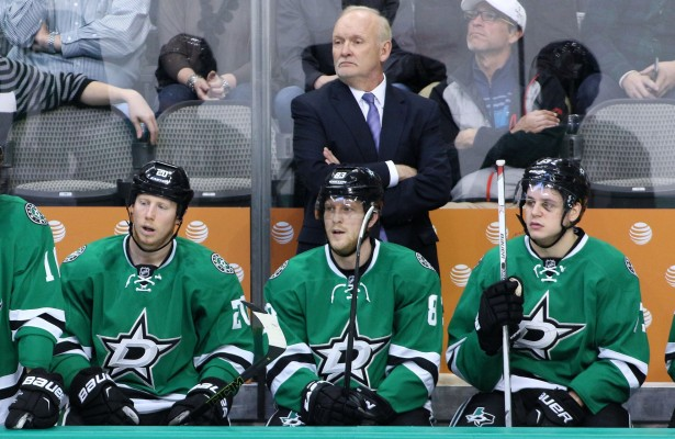 Dallas Stars head coach Lindy Ruff is on the hot seat, but should he be? Photo Courtesy: Dominic Ceraldi