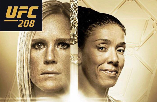 It's a month into the new year and the UFC is ready for its first pay-per-view!