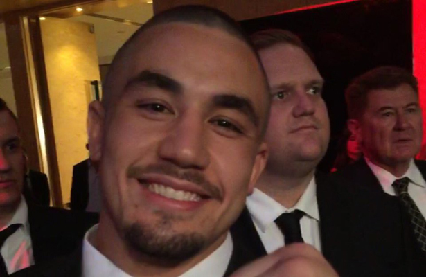 Up-and-comer Robert Whittaker has the opportunity to take the middleweight division by storm. Photo Courtesy: Realistkilla