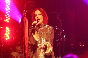 Shirley Manson of Garbage had great stage presence and belted out several hits. Photo Courtesy: Michael Kolch